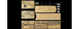 TAMIYA 25181 Photoätzteile-Set für Bismarck 1:350 (78013) | Zurüstteile online kaufen