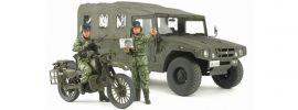 TAMIYA 25188 JGSDF Aufklärer Motorrad + HMV Fahrzeug | Militär Bausatz 1:35 online kaufen