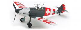 TAMIYA 25200 ME Bf109 E-3 Schweiz   Flugzeug Bausatz 1:48 online kaufen
