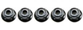 TAMIYA 53162 Radmuttern M4 mit Kragen | schwarz | 5 Stück online kaufen
