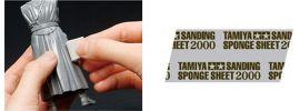 TAMIYA 87170 Schleifschwamm 2000er Körnung | 114x140mm online kaufen