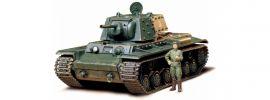 TAMIYA 300135142 Russischer KV-1B 1940 Schwerer KPz   Militär Bausatz 1:35 online kaufen