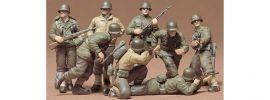 TAMIYA 35048 US ARMY INFANTRY Figuren | 8 Stück | Bausatz 1:35 online kaufen