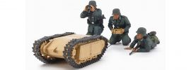TAMIYA 35357 German Assault Pioneer Team + Goliath Set | Militär Bausatz 1:35 online kaufen