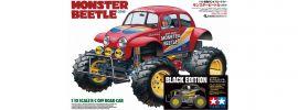 TAMIYA 47419 Monster Beetle Black Edition | RC Auto Bausatz 1:10 online kaufen