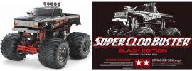 TAMIYA 47432 Super Clod Buster Black Edition | RC Auto Bausatz 1:10 online kaufen