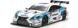 TAMIYA 51582 unlackierte Karosserie Petronas Tom's RC F Super GT | für Tourenwagen 1:10 online kaufen