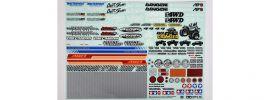 TAMIYA 54630 Dekorbogen Off-Road Sponsoren | für RC Autos online kaufen
