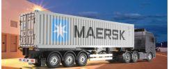 TAMIYA 56326 40-Fuß Container-Auflieger Maersk 1:14 für RC-Truck online kaufen