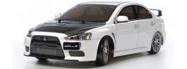 TAMIYA 58641 Mitsubishi Lancer Evo X TT-02D Drift + LED | RC Auto Bausatz 1:10 online kaufen