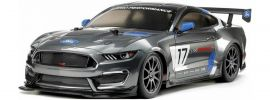TAMIYA 58664 Ford Mustang GT4 TT-02 | RC Auto Bausatz 1:10 online kaufen