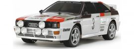 TAMIYA 58667 Audi Quattro Rally A2 TT-02 | RC Auto Bausatz 1:10 online kaufen