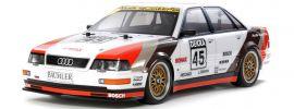 TAMIYA 58682 Audi V8 Tourenwagen TT-02 | RC Auto Bausatz 1:10 online kaufen