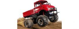 TAMIYA 84322 MB Unimog 406 | rot lackiert  | CW-01 |  RC Auto Bausatz 1:10 online kaufen