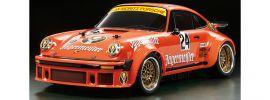 TAMIYA 84431 Porsche 934 RSR J�germeister TA-02SW | RC Auto Bausatz 1:10 kaufen