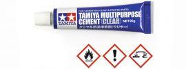 TAMIYA 87188 Multipurpose Cement Clear | Inhalt 20g online kaufen