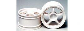 TAMIYA 53233 Calsonic Skyline GTR 5 Speichen Felge weiß 30mm | 2 Stück online kaufen
