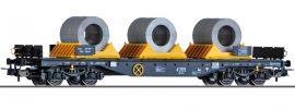 TILLIG 76752 Flachwagen Sgmmns mit Coils   On Rail   DC   Spur H0 online kaufen