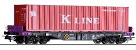 TILLIG 76775 Containerwagen Sgmmns 4505 mit Beladung ERR   DC   Spur H0 online kaufen