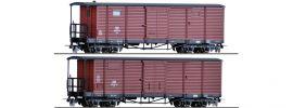 TILLIG 15941 2-tlg. Güterwagenset DR   DC   Spur H0 online kaufen
