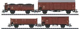 TRIX 24128 Güterwagen-Set 4-tlg. DR | DC | Spur H0 online kaufen
