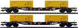 TRIX 24138 Containertragwagen-Set Stuttgart 21 AAE | Spur H0 online kaufen