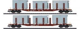 TRIX 24141 Rungenwagen-Set Badsysteme DB AG | Spur H0 online kaufen