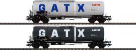 TRIX 24213 Kesselwagen-Set Zans Lotos/GATX | Spur H0 online kaufen