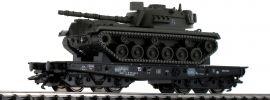 TRIX 24214 Schwerlastwagen Rlmmps mit M48 DB | Spur H0 online kaufen