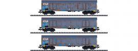 TRIX 24367 Hochbordwagen-Set Ealnos Holzhackschnitzel NS Cargo | Spur H0 online kaufen