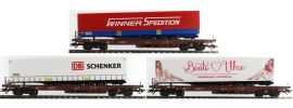 TRIX 24548 Güterwagen-Set 3-tlg. Kombiverkehr DB AG   Spur H0 online kaufen