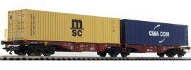 TRIX 24800 Doppel-Tragwagen CD-Cargo | DC | Spur H0 online kaufen