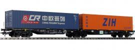 TRIX 24802 Doppel-Tragwagen Sggrss PKP Cargo | Spur H0 online kaufen