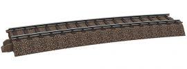 TRIX 62315 Gebogenes Gleis für 62771 + 62772 | 1 Stück C-Gleis | Spur H0 online kaufen