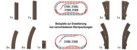 TRIX 62900 C-Gleis Ergänzungs-Packung Spur H0 online kaufen