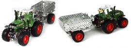 tronico 10021 Metallbaukasten Fendt 313 Traktor mit Anhänger |  759 Teile | 1:32 online kaufen