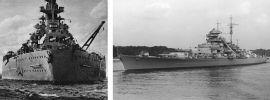 TRUMPETER 03702 German Battleship Bismarck Bausatz 1:200 online kaufen