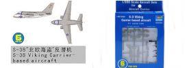TRUMPETER 756226 Lockheed S-3 Viking 6 Stück für Flugzeugträger Bausatz 1:350 online kaufen