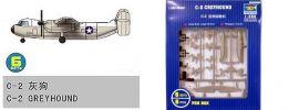 TRUMPETER 756238 Grumman C-2 Greyhound Flugzeug für Flugzeugträger 6 Stück Bausatz 1:350 online kaufen