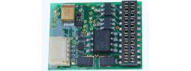 Uhlenbrock 75330 Multiprotokoll Lokdecoder mit Lastregelung | 21MTC NEM660 online kaufen