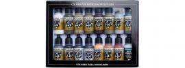 VALLEJO 771194 Farbset Alterungs-Set | 16x17 ml online kaufen