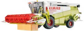 Viessmann 1259 CLAAS Mähdrescher mit Scheinwerfer und drehender Haspel | Funktionsmodell Spur H0 online kaufen