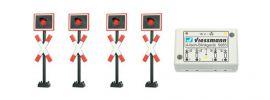 Viessmann 5835 Andreaskreuze mit Blinkelektronik | Spur H0 online kaufen