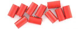 Viessmann 6880 Runde Muffen | 2,5 mm - alte Generation | Rot | 10 Stück online kaufen