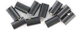 Viessmann 6886 Runde Muffen | 2,5 mm - alte Generation | Schwarz | 10 Stück online kaufen