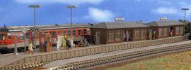 VOLLMER 43550 Bahnsteig Wiesental mit 2 Wartehallen | Bausatz Spur H0 online kaufen