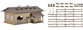 VOLLMER 43740 Schweinestall mit Schweinen und Zaun | Bausatz Spur H0 online kaufen