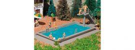 VOLLMER 3809 Schwimmbad Bausatz Spur H0 online kaufen