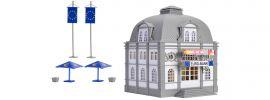VOLLMER 42002 Euro Bank Bausatz mit 2 x Euro-Rettungsschirm H0 online kaufen