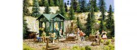 VOLLMER 43606 Grillplatz mit Hütte Bausatz  1:87 online kaufen